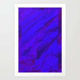 Blazing Marble 08 Art Print