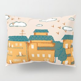 Urban Pastures Border Pillow Sham