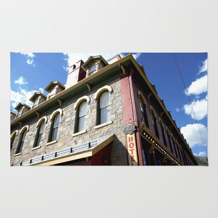 "On Greene Street - The ""Main Drag"" of Silverton, No. 2 of 3 Rug"