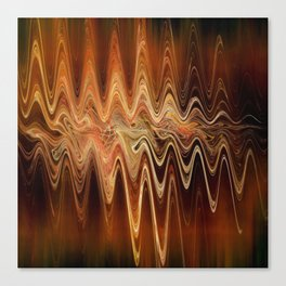 Earth Frequency Canvas Print