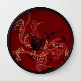 Holding Pattern Wall Clock