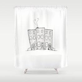 Jellybean Row St. John's, Newfoundland Shower Curtain