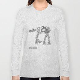 Star Wars Vehicle AT-AT Walker Long Sleeve T-shirt