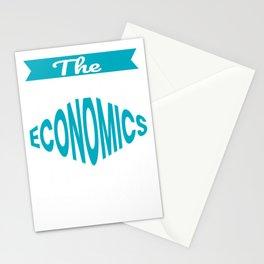 The Legendary Economics Teacher Retirement Gift Design Stationery Cards