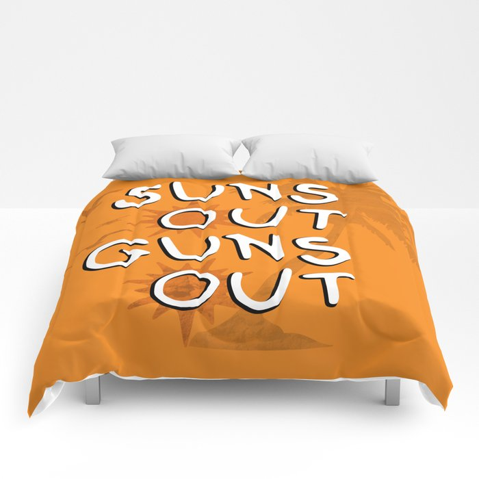 Suns Out Comforters