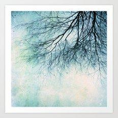 winter smooth Art Print