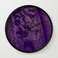 food Wall Clocks featuring Food by Mark Spence