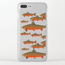 Actic Char Clear iPhone Case