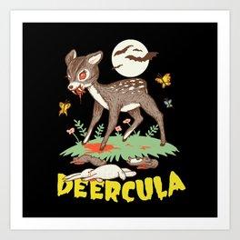 Deercula Art Print