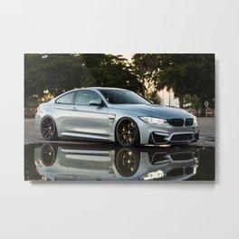 BMWM4 Metal Print