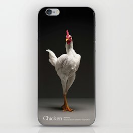 Chic!ken - Modern English Game Fowl iPhone Skin