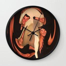 Family Follies Wall Clock