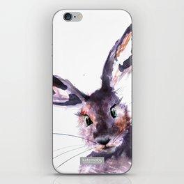 Inky Hare iPhone Skin