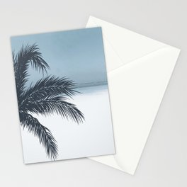 Palm and Ocean Stationery Cards