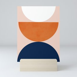 Abstraction_Balance_Minimalism_001 Mini Art Print