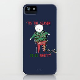 'Tis the season to be knotty iPhone Case