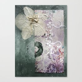 The Moth Orchid Canvas Print