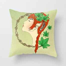 Forest Dreams Throw Pillow