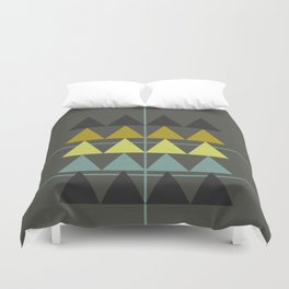 disguise forest    spring neon Duvet Cover