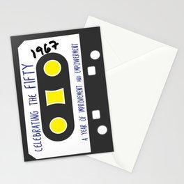 CELEBRATE THE 50 - CASSETTE Stationery Cards