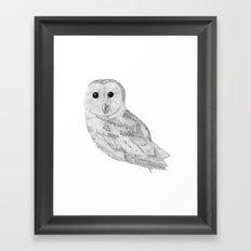 Uggla Framed Art Print