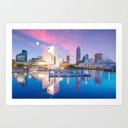 Cleveland - USA Art Print