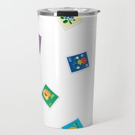 Fruit Stamps 12 Travel Mug