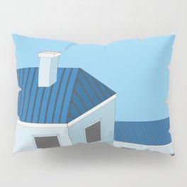 Blue roofs Pillow Sham