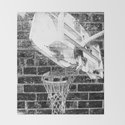 Black and white basketball artwork by takumipark
