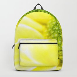 Yellow Daisy Macro Nature Photography Backpack