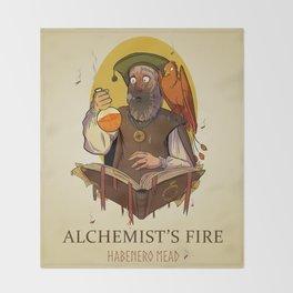 Alchemist's Fire Habanero Mead Throw Blanket
