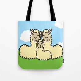 Lovely Llama's Tote Bag
