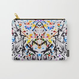 The Garden in Abstract Carry-All Pouch