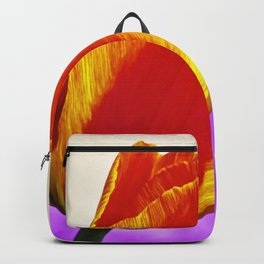 Colorful Two Tone Tulip Backpack