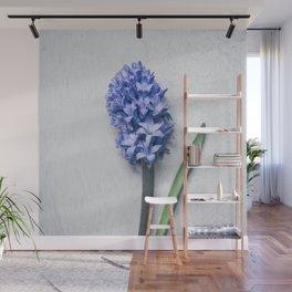 Blue Hyacinth Wall Mural