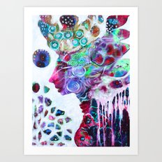 Nature's Diamonds Most Wise Art Print