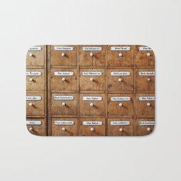 Pharmacy storage Bath Mat