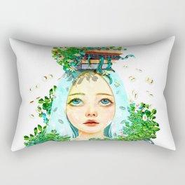 The era of knowledge Rectangular Pillow