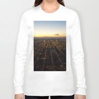 skyline Long Sleeve T-shirts featuring Skyline by Mints&Bees