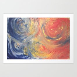 Bubbles without Borders Art Print