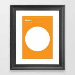 Holism Framed Art Print