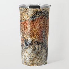 Cave painting in prehistoric style Travel Mug