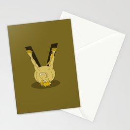 Monogram V Pony Stationery Cards