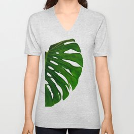 Banana Leaf (Color) Unisex V-Neck