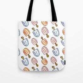 Popsicle Print Tote Bag
