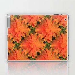 Orange Daisy Laptop & iPad Skin