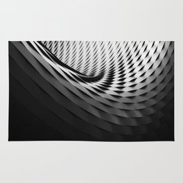 Geometric Swirl Designs Geometric Abstract Rug