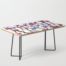 Spring Flowers Coffee Table
