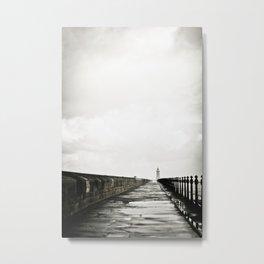 English Pier Metal Print