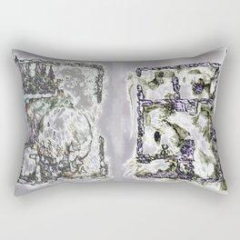 Foiled Excavations Rectangular Pillow